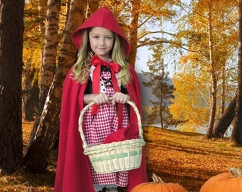 Little Red Riding Hood, Little Girl Halloween Costume, Childrens Halloween Costumes, Halloween Costumes for Toddlers