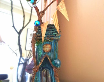 Bluegrass Magical Handmade fairy house