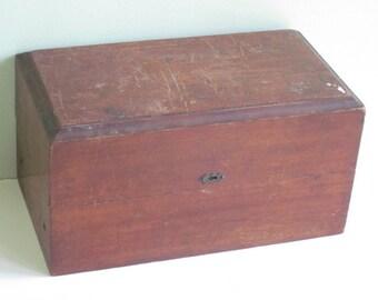 Antique Wood Box Chest