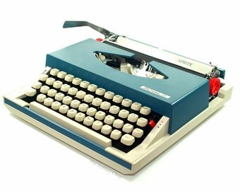 Revitalized Royal Swinger Typewriter Professionally Refurbished Portable w/Two New Ribbons & New Platen