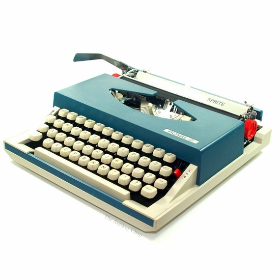 Revitalized Royal Sprite Typewriter Professionally Refurbished Portable w/Two New Ribbons & New Platen