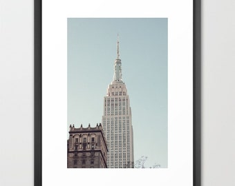 New York photography, Large art, New York print, New York art, New York city, NYC print, New York photo large wall art, Empire Sate building