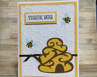 Thank you card, greeting card, all occasion card