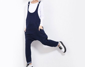 Women Jumpsuits Sexy Jumpsuit Cute Jumpsuit Denim Pants Long Overalls #J11
