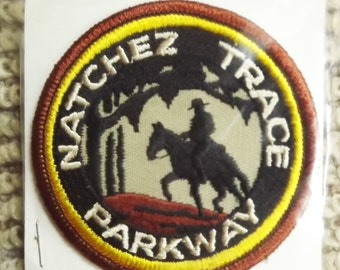 Natchez Trace Parkway Postrider Patch