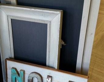 large framed chalkboard reclaimed rough cut cedar wood wedding chalkboard rustic chalkboard menu chalkboard kitchen chalkboard sign