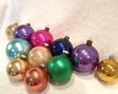 Eleven Shabby Chic Vintage Christmas Ornaments