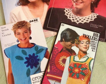 Vintage crochet patterns.