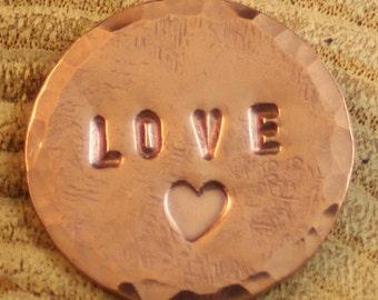 Positive Change Medallion: Love