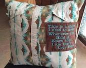 For Jessie- Custom order Memory pillows