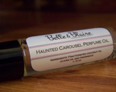 Haunted Carousel Perfume Oil- Cotton Candy, Caramel Popcorn, Candied Apples, Chocolate, Funnel Cake, Dragons Blood- Roll On Perfume