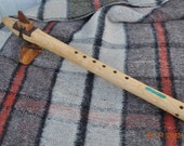 Native American Style Flute Low D  Scale Extreme Figure Maple By CBF