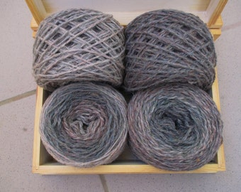 260 g 100% Wool  mix yarn for hand  knitting