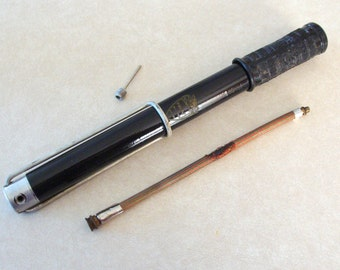 Original Vintage Ducati Motorcycle Tire Hand Pump from 1960's, Still Works