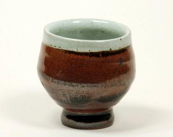 White kaki glazed cup (yunomi)
