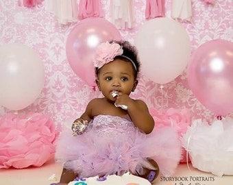 Baby tutu set, Baby tutu, Baby photo prop, first birthday tutu set, pink tutu set, tutu set,  birthday tutu set, photo prop, birthday tutu,