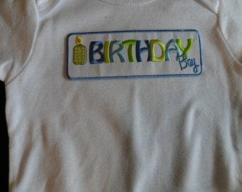 Birthday Boy Onesie