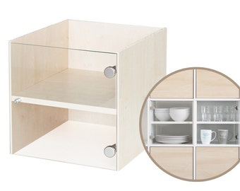 Display using of shelf for IKEA Kallax shelf / Birch