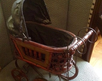 Vintage baby doll carriage