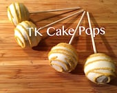 Cake Pops Gold and White