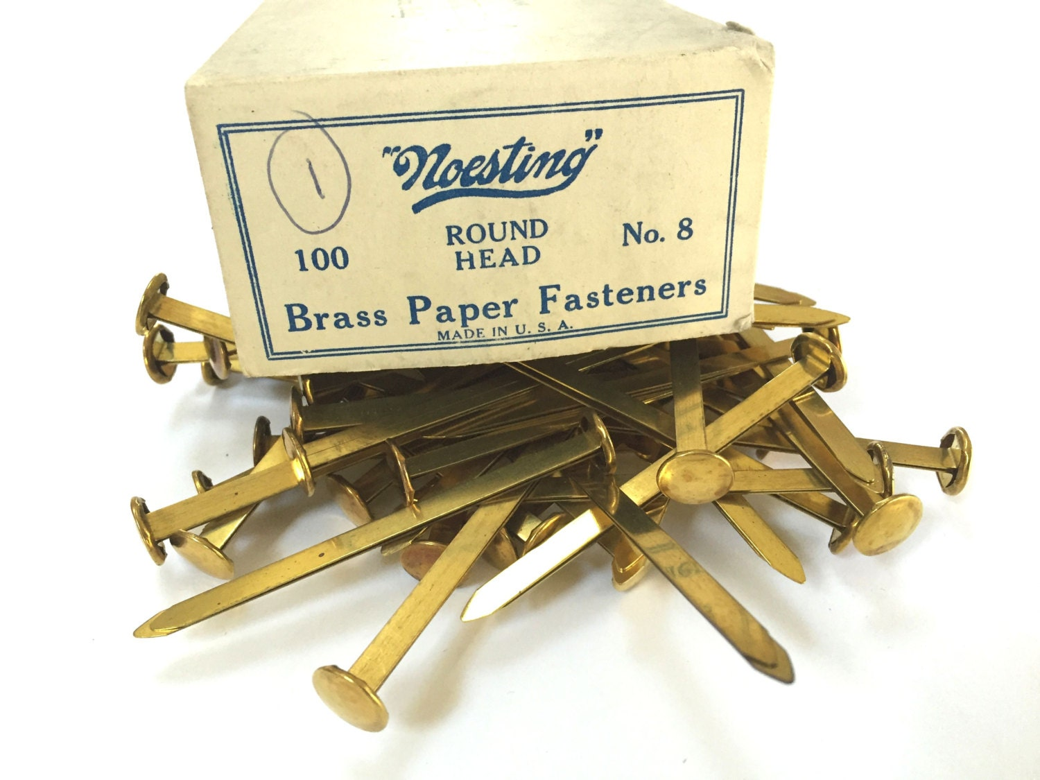 brass paper fasteners Buy paper fasteners stationery tub at baker ross a simple solution for keeping paperwork held securely tub of brass plated steel paper fasteners easy to use .