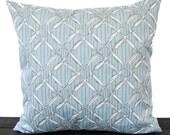 Pillow, Throw Pillow, Pillow Cover, Cushion, Decorative Pillow, Spa Blue Nautical Beach Lakehouse decor Nautical Beach Sailing Bora Bora