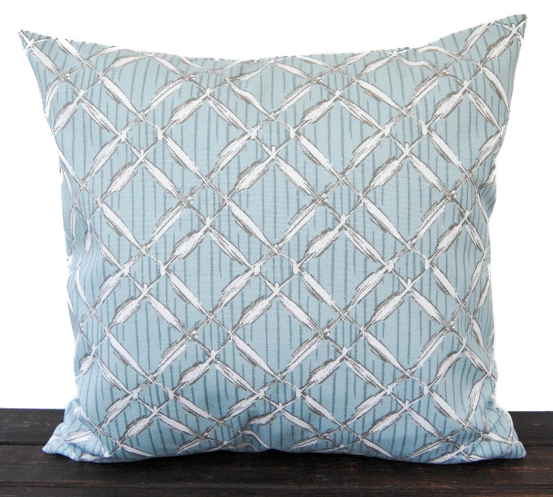 Spa Blue Throw Pillow Cover : Pillow Throw Pillow Pillow Cover Cushion Decorative