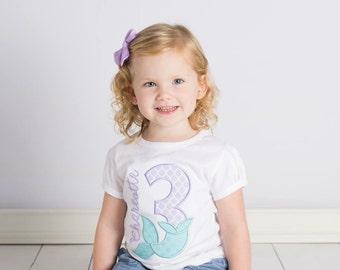 Mermaid Birthday shirt