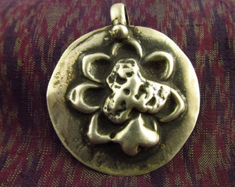 Antique Silver Tribal Hindu Amulet