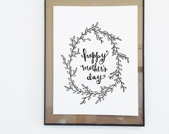 Mother's Day Print- Digital