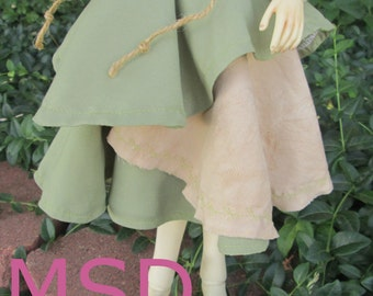 BJD SD MSD 70 Drawstring Mori Skirt