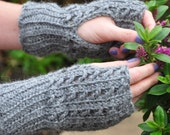Winter Silk Mitts - Instant Download PDF Crochet Pattern
