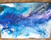 Into Light/ mixed technique/Acrylic on canvas