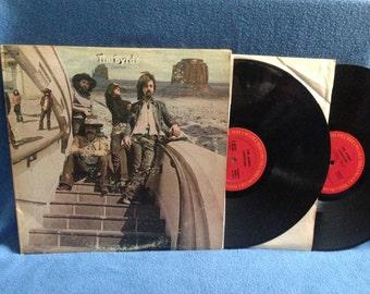 "RARE, Vintage, The Byrds - ""Untitled"", Vinyl 2 LP Set Record Album, Lover of the Bayou, Chestnut Mare, Gene Parsons"