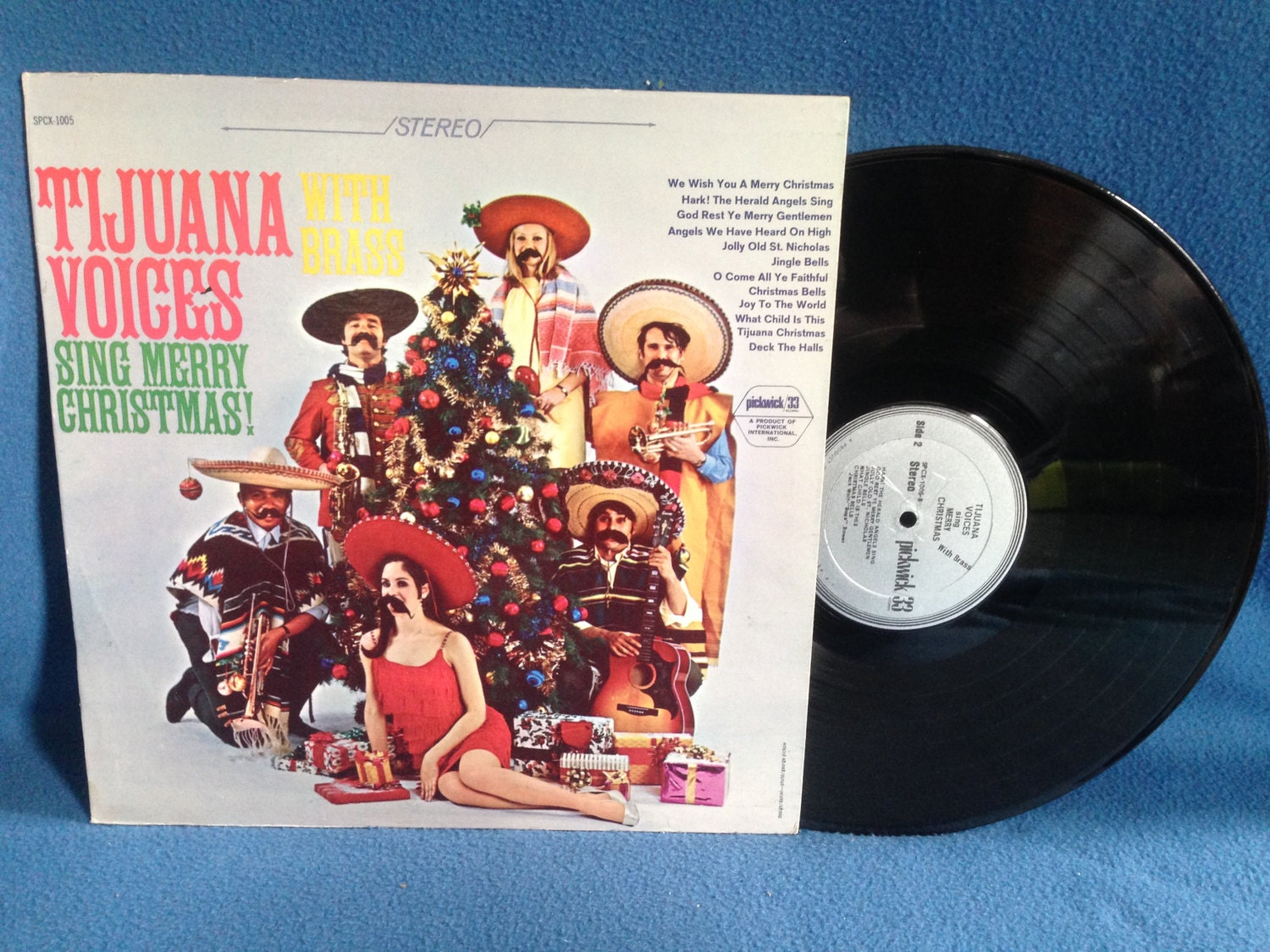 Vintage Tijuana Voices With Brass Sing Merry