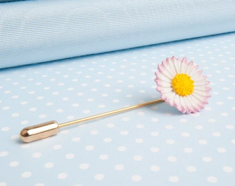 Lawn Daisy Stick Pin