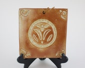 Vintage Terra Designs Ceramic Tile Trivet OR Wall Hanging!