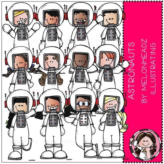 Astronauts clip art - Combo Pack