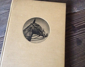 1939 Horse Riding Book by Benjamin Lewis Hardcover, Equestrian Riding Jumping Lessons