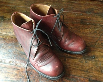 Brown Leather Oxford Made in England Women's Size 4,5  5,5 US