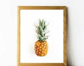 Pineapple print 8 x 10