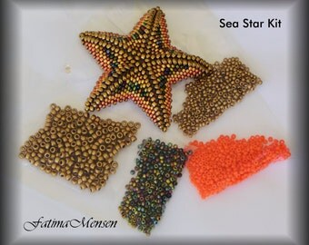 DIY - Sea Star Tri-color Kit - Material and Tutorial