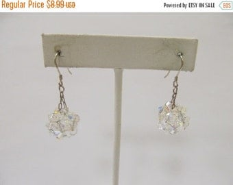 ON SALE Hand Made 925 Aurora Borealis Dangle Earrings Item K # 954