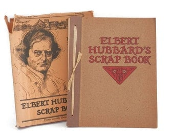 Roycroft Scrapbook by Elbert Hubbard Freethought and Enlightenment Arts and Crafts Era