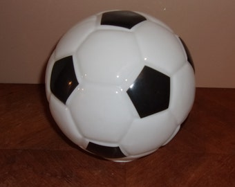 Vintage Soccer Ball Light Shade