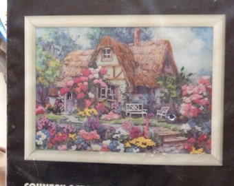Dimensions Country Retreat Cross Stitch Kit