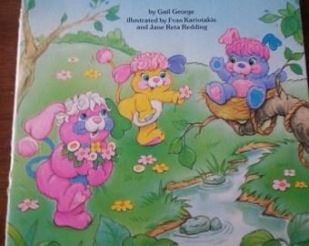 Vintage the Popples Perfect Plan book, eighties