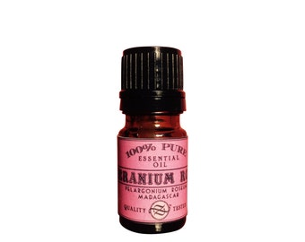 Geranium Rose Essential Oil, Pelargonium roseum, Madagascar - 5 ml