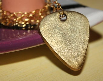 Guitar Pick Necklace Pendant