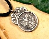 PHÖNIX, 999 silver necklace